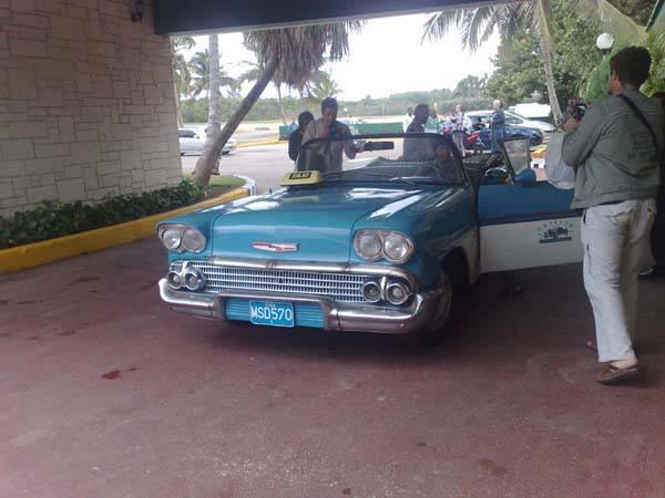 Раритетное такси Варадеро