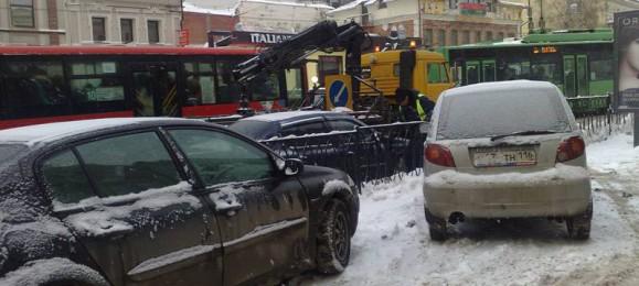 Эвакуатор в центре Казани
