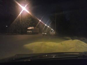 Ваз 2112 врезался в опору на улице Адоратского