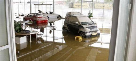 Затопленные автомобили
