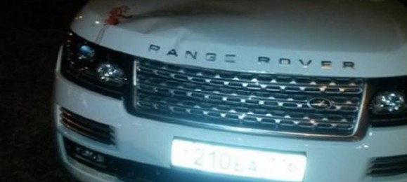 Range Rover. Минниханов