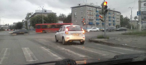 Светофор. Стоп-линия