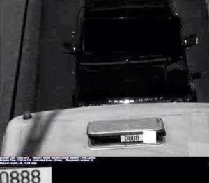 "Range Rover на ""автобусной полосе"""