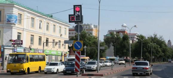 Светофор в Ульяновске