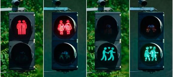 Светофоры для геев и лесбиянок