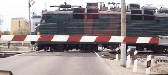 Железнодорожный переезд на красный штрафы
