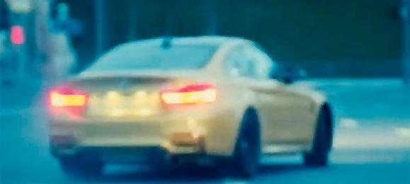 Водителю BMW не хватает внимания