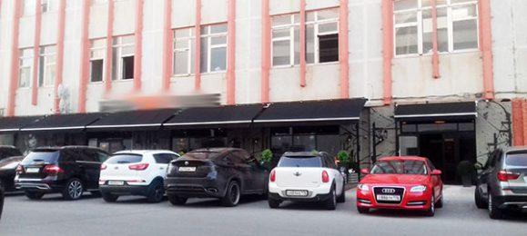 Парковка. Автомобили.